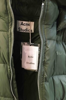 Пуховик Acne Studios 7466 - image 4 - Photo 4