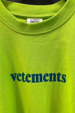 Футболка Vetements 7700 Фото 2