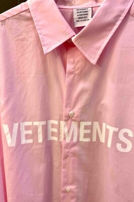 Рубашка Vetements 8854 Фото 2